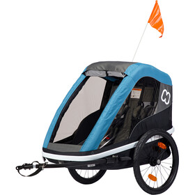 Hamax Avenida Bike Trailer black/teal